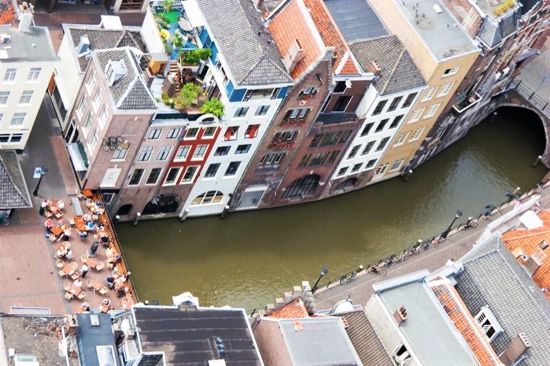 Utrecht seen from Dom tower