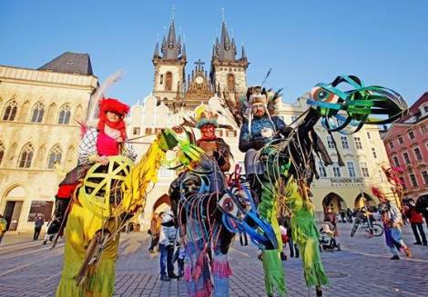 Bohemian Carnival in Prague