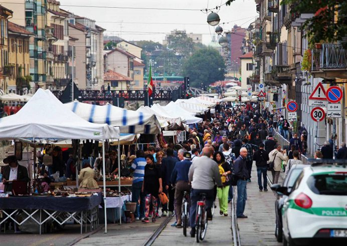 Fiera di Sinigaglia - large street market