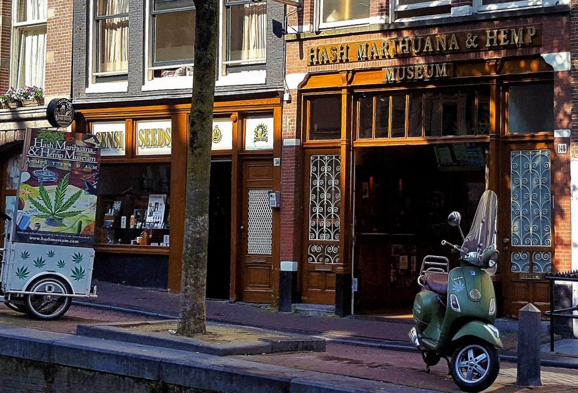 Hash, Marijuana and Hemp Museum in Amsterdam
