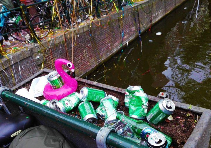 Cerveza, Flamingos y Canales, Otro Dia en Ámsterdam