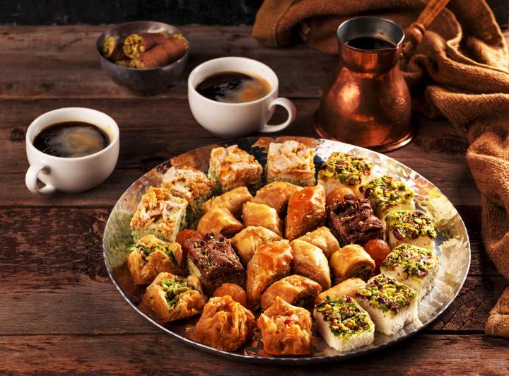 Diferentes tipos de baklava