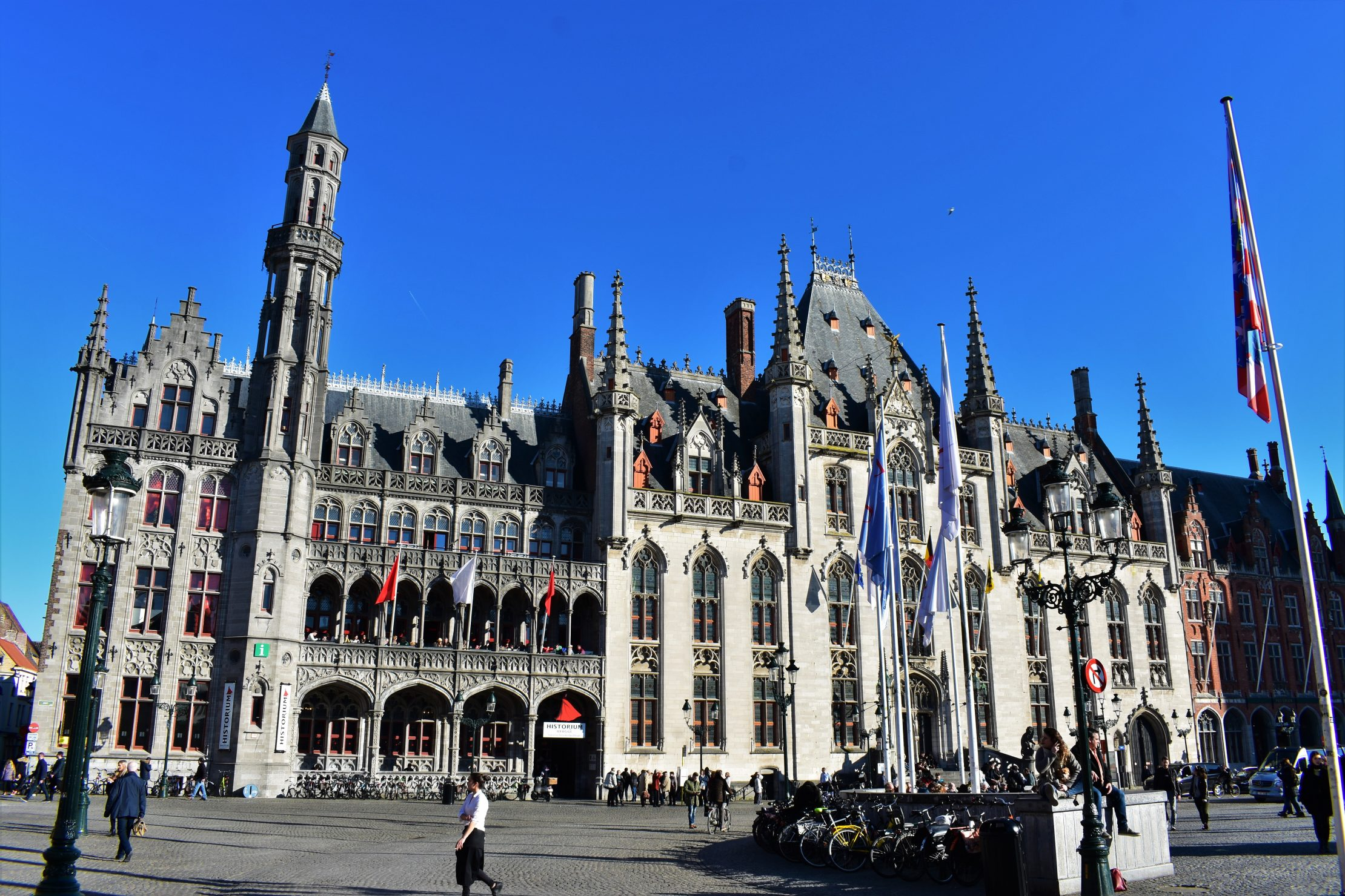 Historium in Bruges with Duvelorium terrace