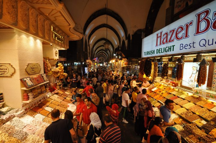 Inside the labyrinth of the Grand Bazaar of Istanbul