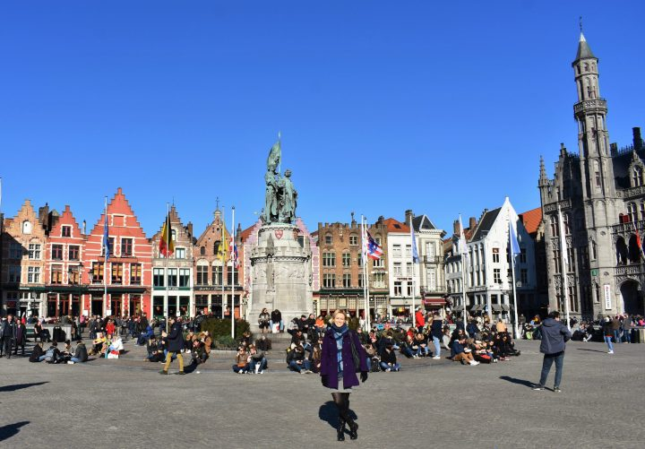 Markt - the main square in Bruges - 15 best things to do in Bruges