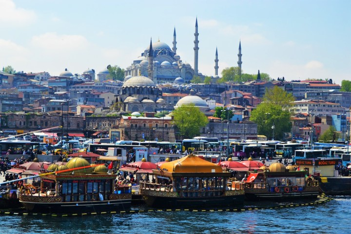 The melting pot of the European and Asian cultures - Istanbul is as exotic as it gets