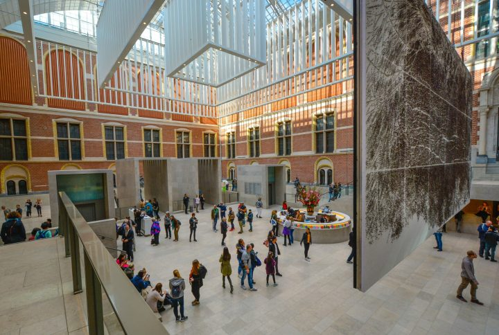 Amsterdam has the highest number of museums per square km in the world