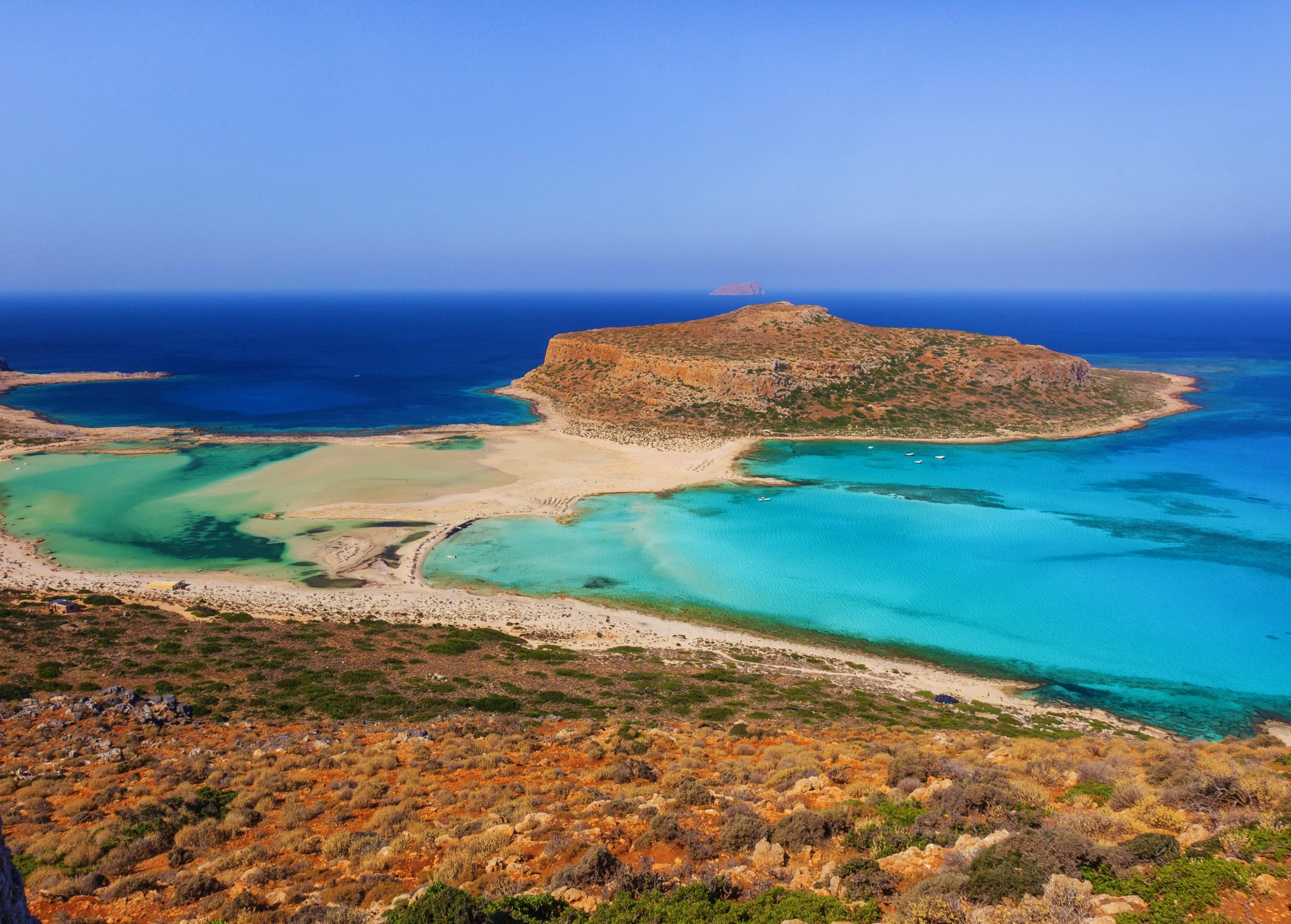 Best beaches in Crete in Greece