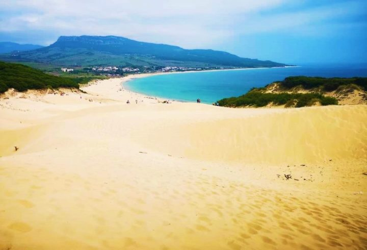 Playa de Bolonia - Tarifa, Spain - one of the best beaches in Europe