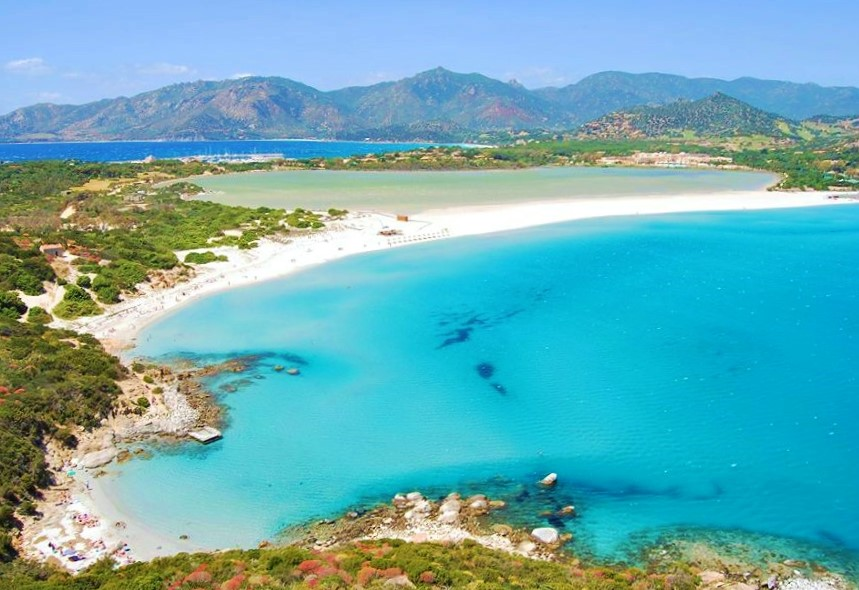 Porto Giunco in Villasimius, Sardinia, Italy - the best of the Caribbean beaches in Europe