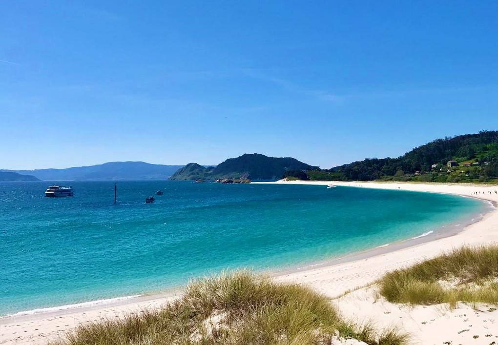 Praia da Rodas - Galicia, Spain - one of the best beaches in Spain