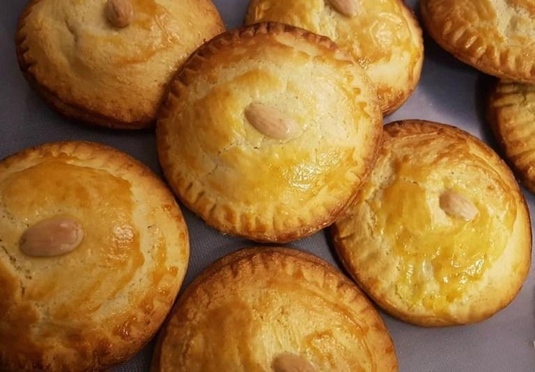 Gevulde-Koeken galletas rellenas de mazapán