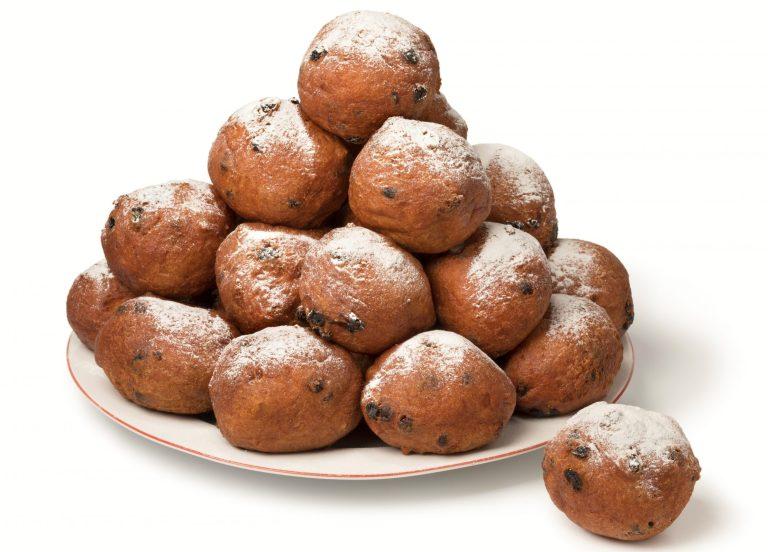 Oliebollen, rosquillas holandesas