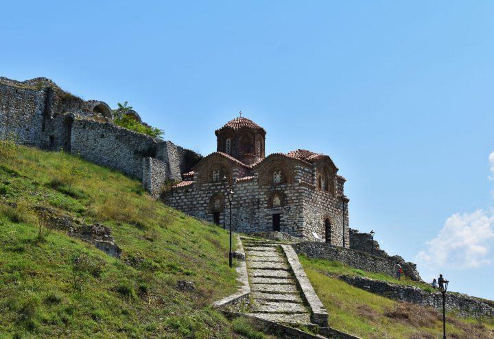 Iglesia Bizantina de la Santisima Trinidad en Berat