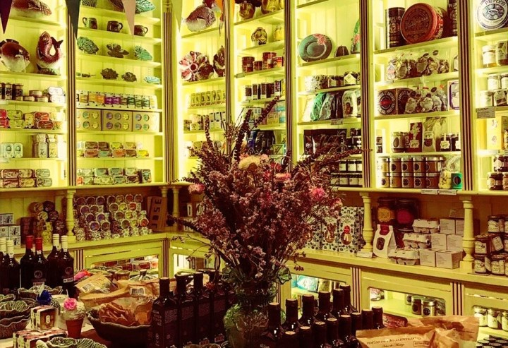 Distintos productos artesanos portugueses