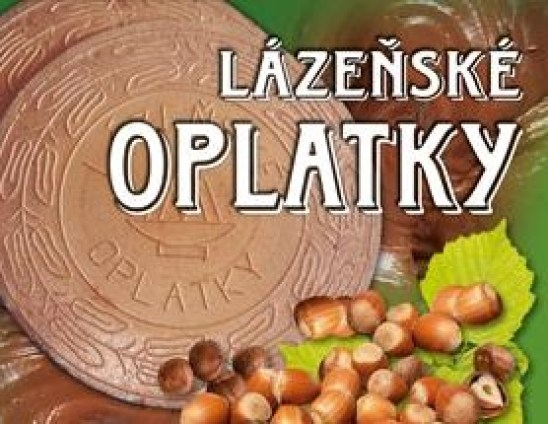 Lázeňské oplatky - spa wafers with assorted flavours