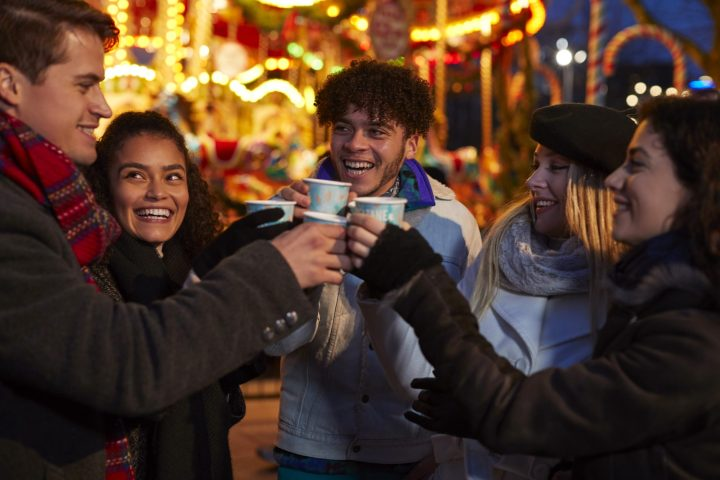 Mulled wine is one of the strongest Christmas markets' traditions