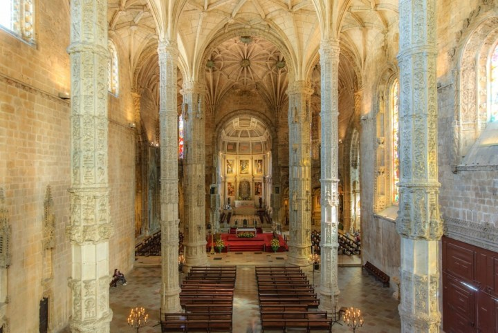 The Church of Santa Maria de Belém, Lisbon, Portugal