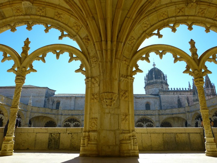 The Jeronimos Monastery amazes with its sublime architecture