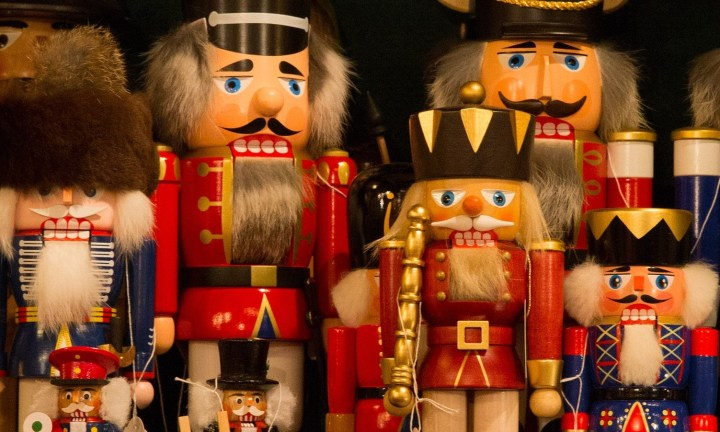 Traditional German old-fashioned nutcrackers are a charming gift
