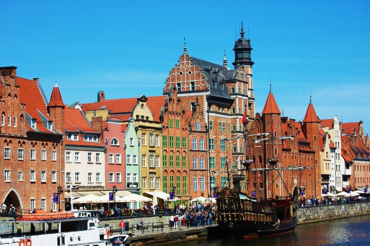 One of Poland's most beautiful cities - splendid Gdańsk by the Baltic Sea, Poland