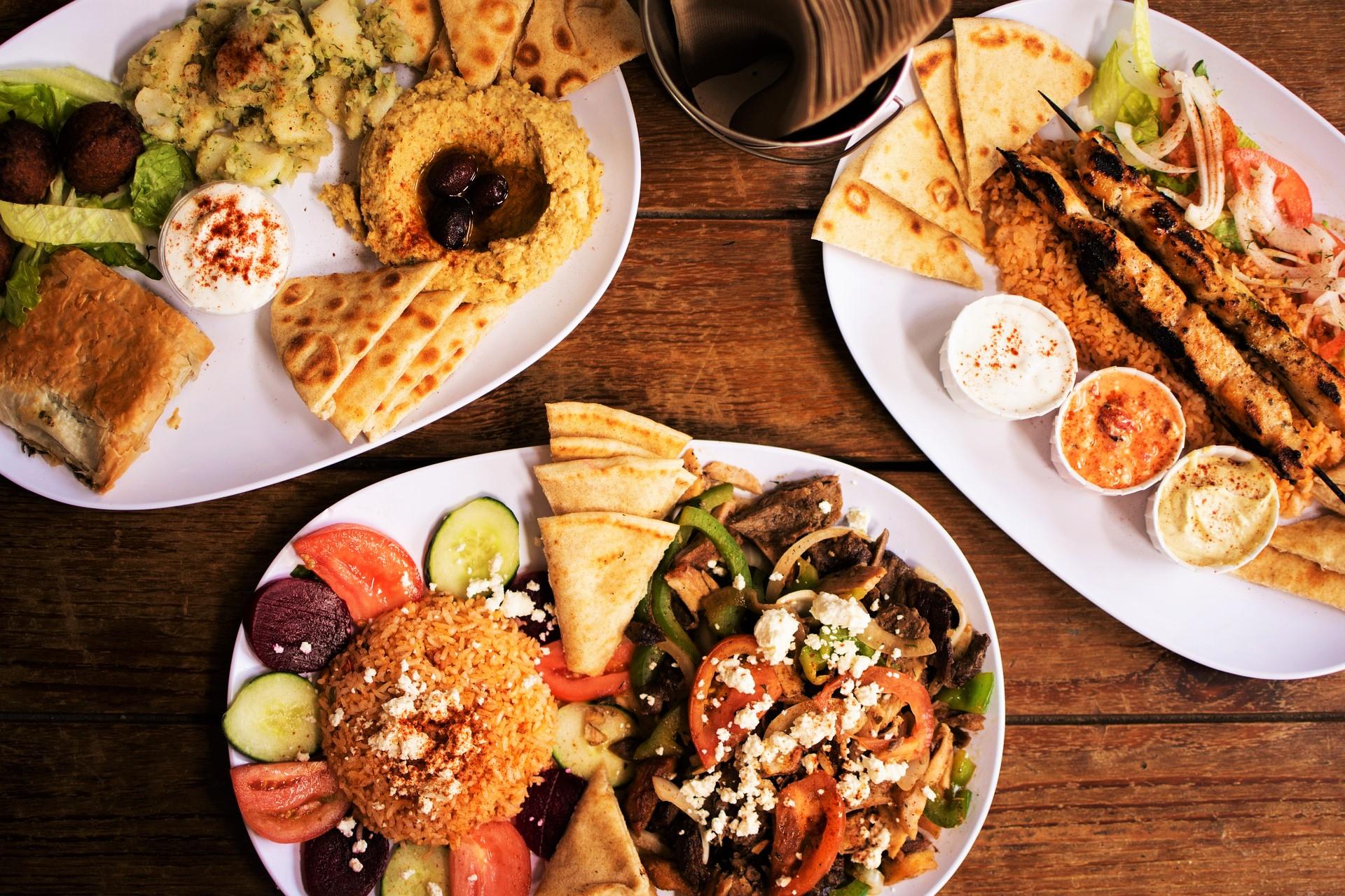 Comer en Atenas
