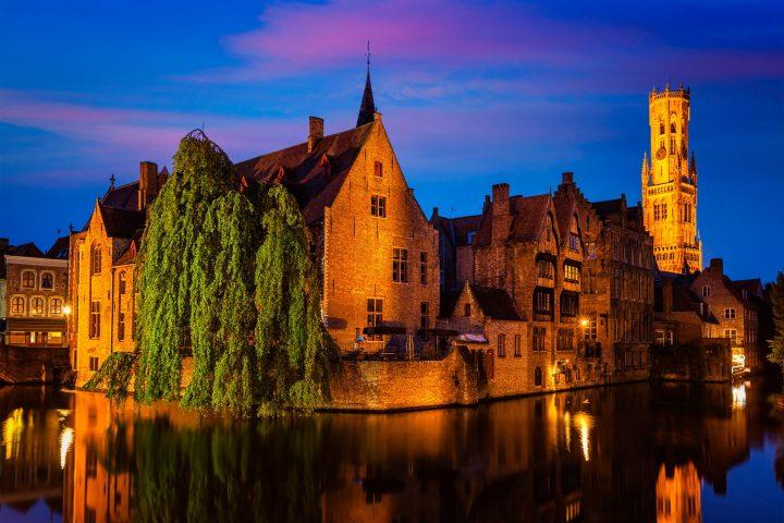 Rozenhoedkaai en Brujas, el lugar más famoso de la ciudad