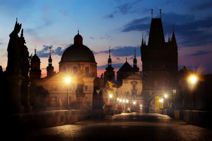 Charles Bridge by night is a romantic's dream - reasons to visit Prague