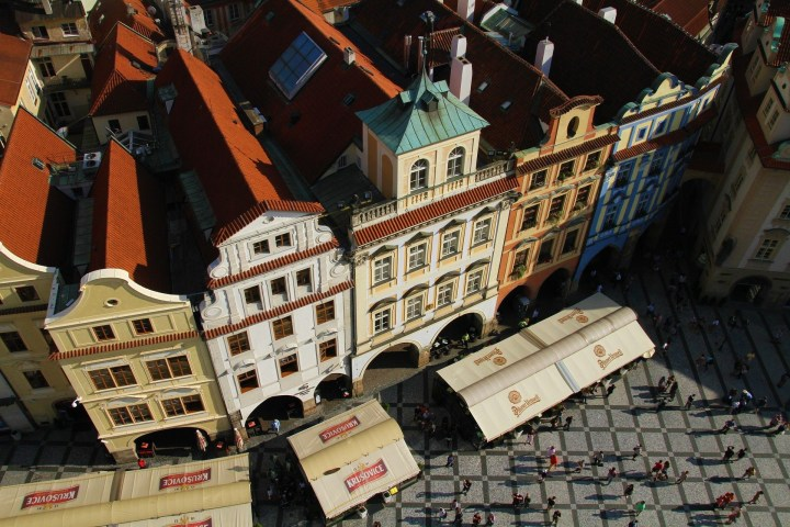 Prague proudly preserved its rich architectural heritage