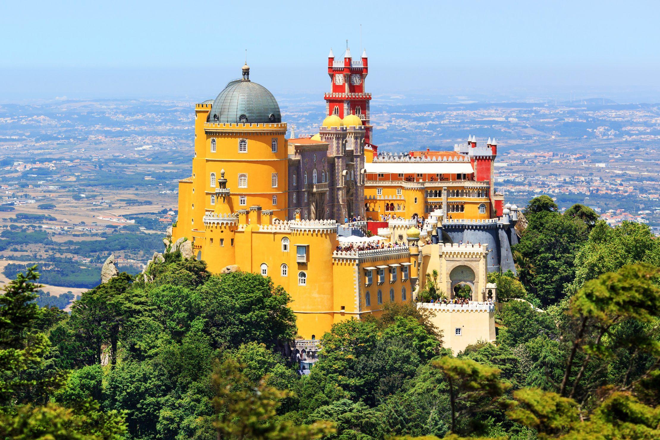 El Palacio de Pena en Sintra te impresionara