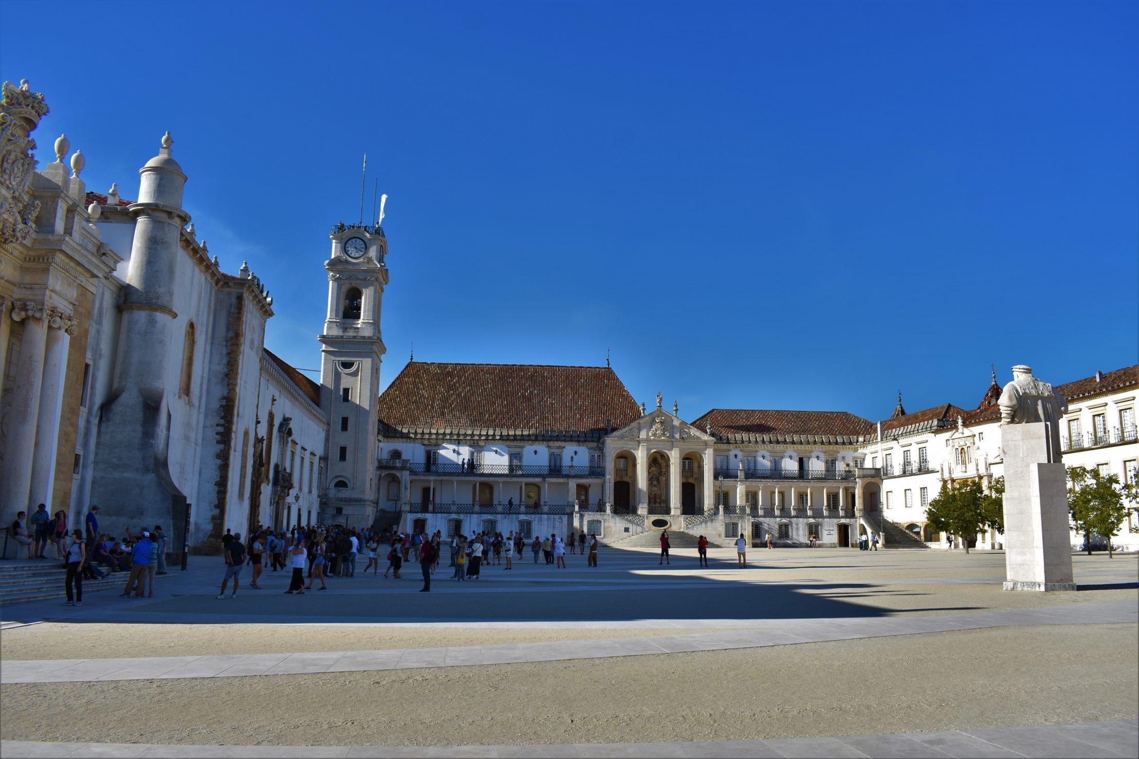El complejo histórico de la Universidad de Coimbra