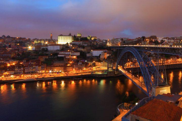 Porto con su espectacular puente Luis I y la Riviera