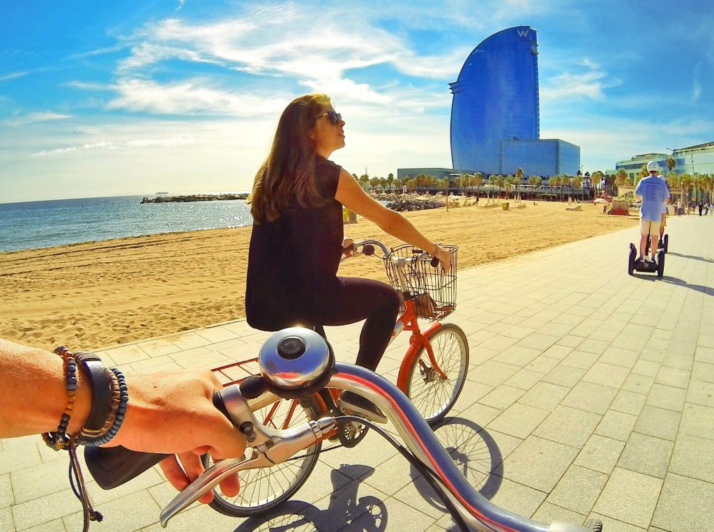 Barcelona is one of Europe's best cities for cycling