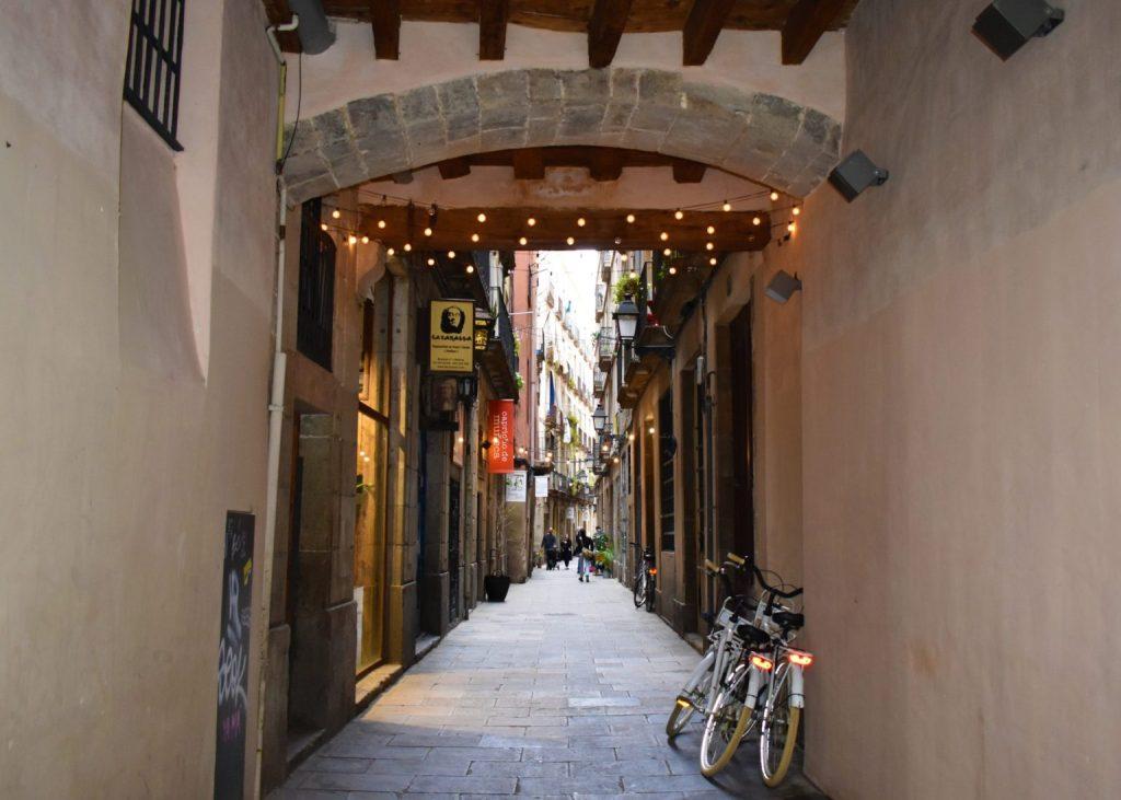 En Barcelona nunca deje tu bicicleta desbloqueada