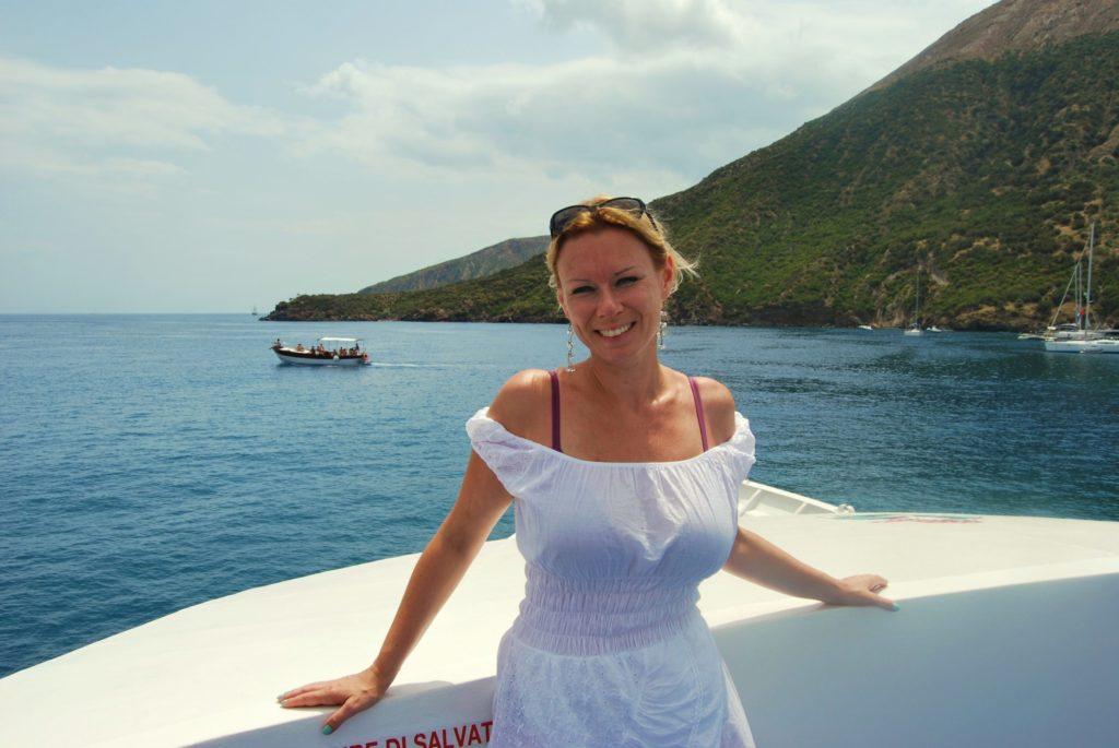 Navegando por las islas Eolias