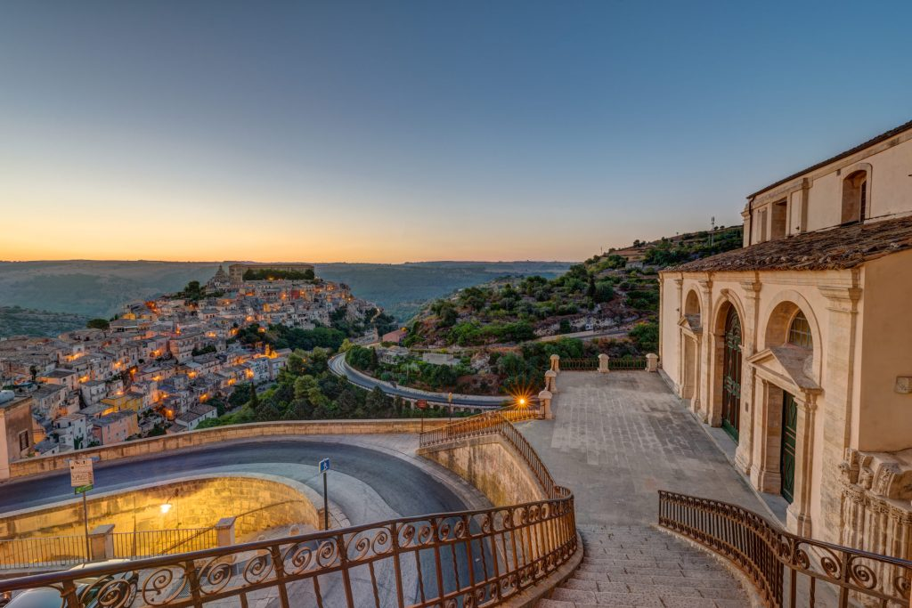 Ragusa Ibla, spectacular historical district of Ragusa in Sicily