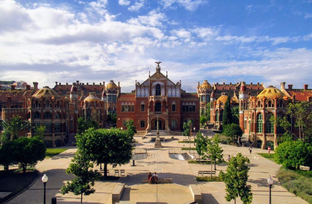 Recinte Modernista de Sant Pau - un fascinante complejo de art nouveau en Barcelona