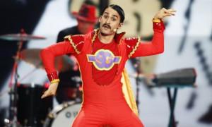 Qui a dit qu'il y avait du ridicule à l'Eurovision ?