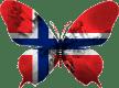Norvège-papillon