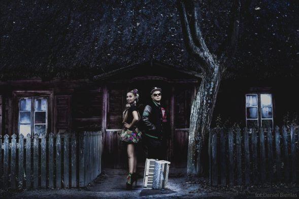 Donatan & Cleo... chez la famille Addams