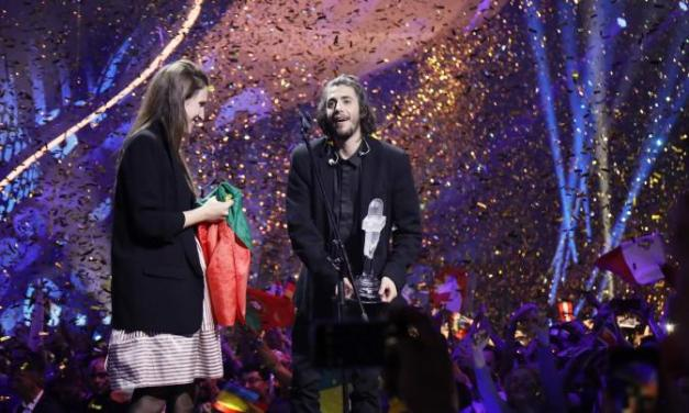 LE PORTUGAL REMPORTE L'EUROVISION 2017 – #SALVADORABLE
