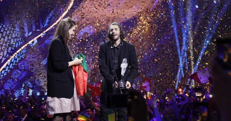 LE PORTUGAL REMPORTE L'EUROVISION 2017 – #SALVADORABLE