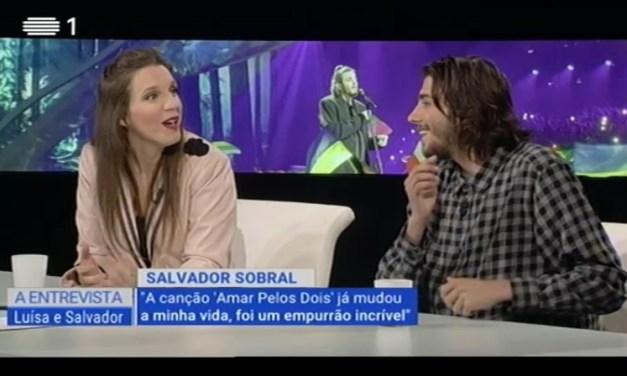 Salvador et Luísa Sobral interviewés sur la RTP