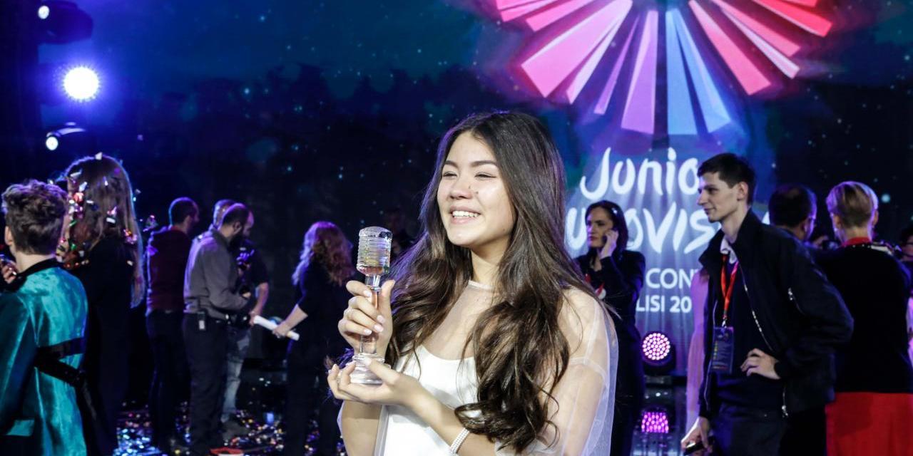 Eurovision Junior 2017 : premières déclarations de Polina Bogusevich