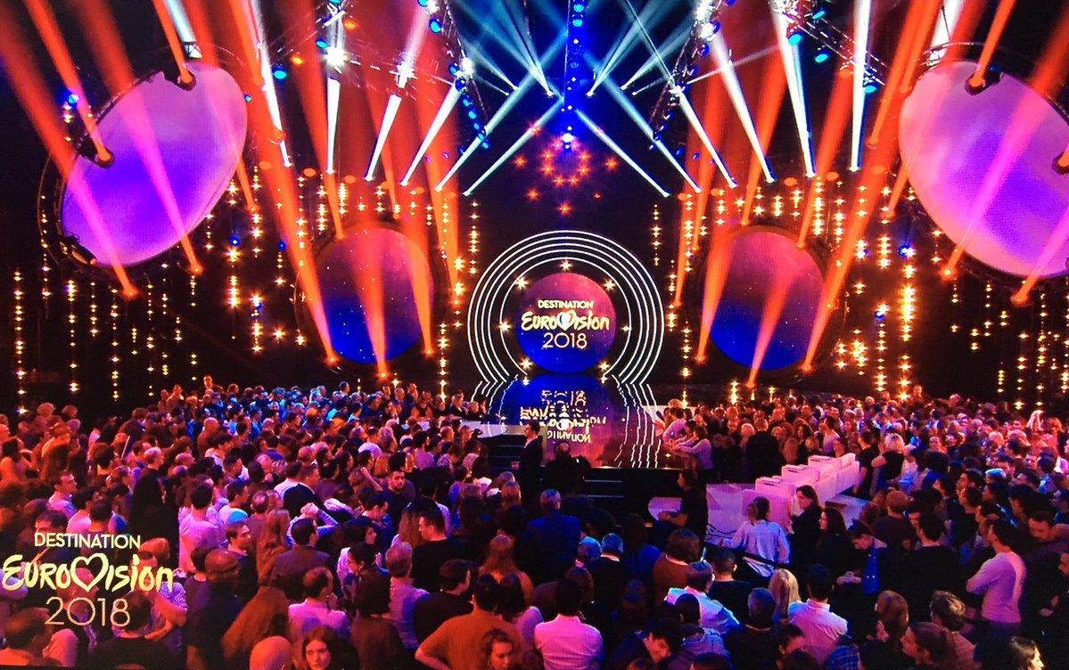 destination eurovision 2018 enregistrement de la premi re demi finale l 39 eurovision au quotidien. Black Bedroom Furniture Sets. Home Design Ideas