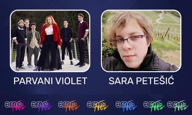 Slovénie 2020 – EMA FREŠ : Parvani Violet ou Sara Petešić ? [Mise à jour : Parvani Violet remporte le duel 6]