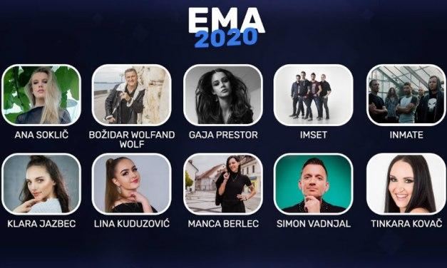 EMA 2020 : annonce des 10 premiers finalistes