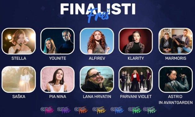 Ce soir : finale de l'EMA FREŠ (Mise à jour: résultats)