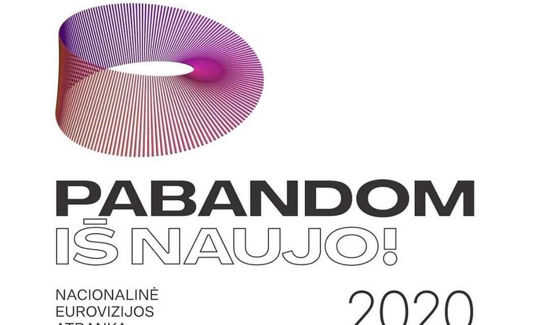 Eurovizijos atranka 2020 : slogan et logo