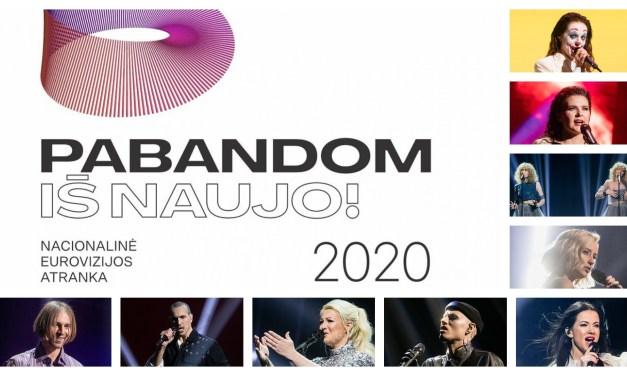Ce soir : première demi-finale de l'Eurovizijos atranka (Mise à jour : résultats)
